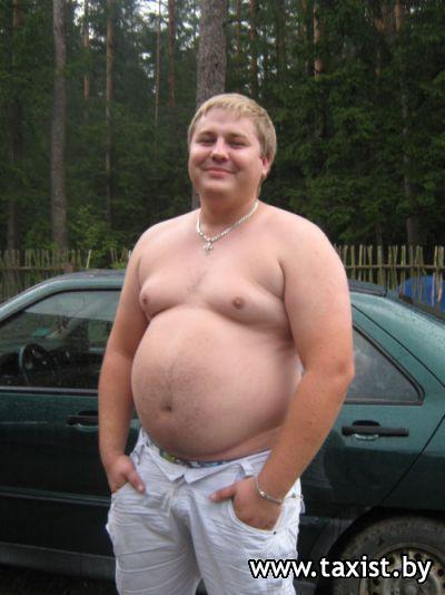 Ожиревшие голые мужики