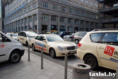 фото такси германии