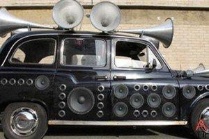 В Лондоне появилось музыкальное такси