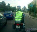 Улицы Бреста патрулируют на мотоциклах BMW