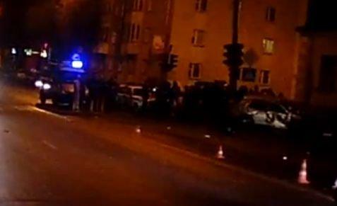Барановичи: проезд на красный спровоцировал серьезную аварию