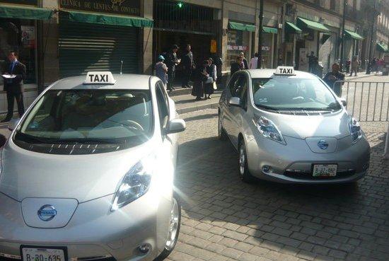 Полностью электрические такси могут скоро появиться в США