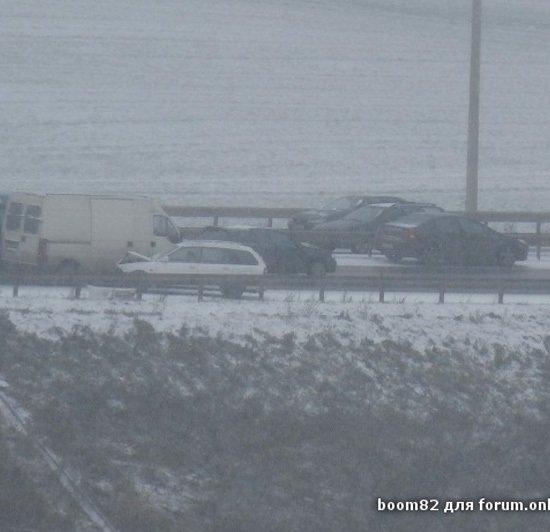 ГАИ Минска просит водителей в течение дня не выезжать на МКАД
