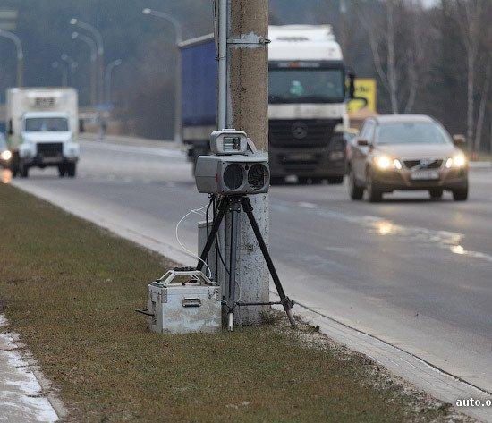 Фотофакт: на пр. Независимости в столице заработали камеры скорости