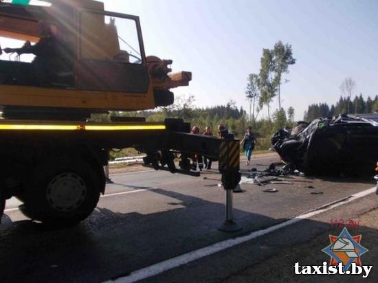 Страшное ДТП в Оршанском районе: 9 погибших и 11 пострадавших