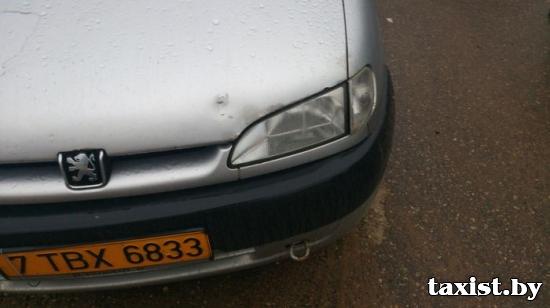Угнанный автомобиль такси найден самими таксистами по собственной иннициативе