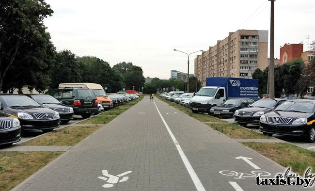 Минская служба такси закупила партию рестайлинговых Geely SC7